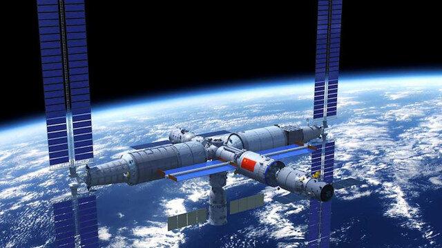 Çin uzay istasyonunu 2022'de tamamlamayı planlıyor