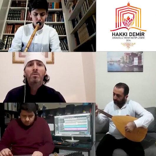 Üsküdar Hakkı Demir Anadolu İHL öğrencilerinden ilahi dinletisi