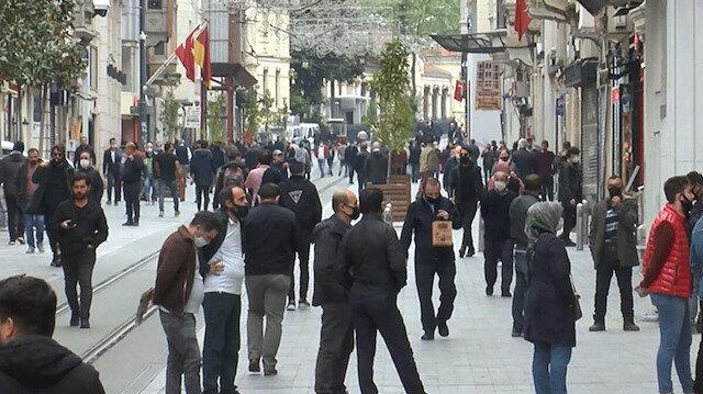 Taksim Meydanı ve İstiklal Caddesi'nde maske takma zorunluluğu