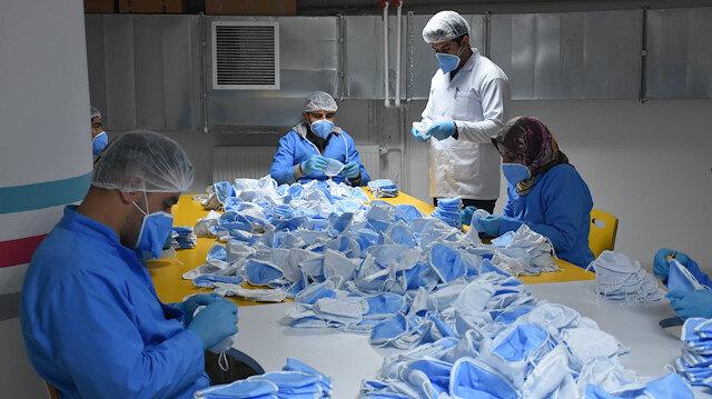 Malatya'da üretilen maske 1 milyarın üzerinde sipariş aldı