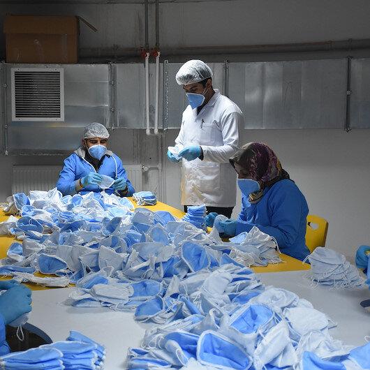 Malatyada üretilen maske 1 milyarın üzerinde sipariş aldı
