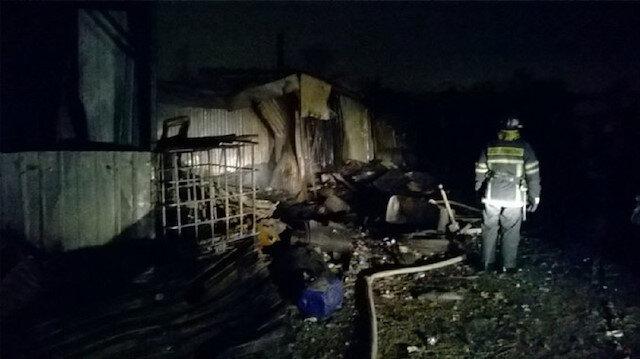 Rusya'da yatalak hastaların kaldığı bakımevinde çıkan yangında 9 kişi hayatını kaybetti