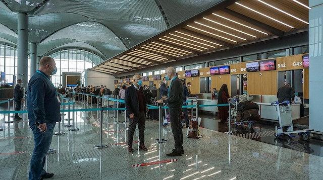 Havalimanlarında alınacak tedbirler açıklandı: Düzenlemelerde sosyal mesafe gözetilecek