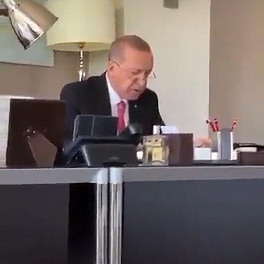 Cumhurbaşkanı Erdoğan hatmi şerifin 25. cüzünde