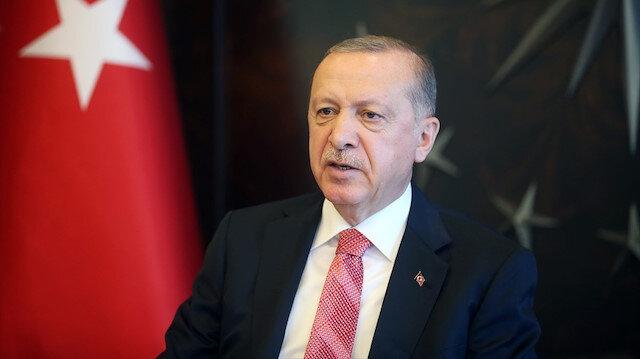 Cumhurbaşkanı Erdoğan'dan 'maske' açıklaması: Uzunca bir süre kullanmalıyız