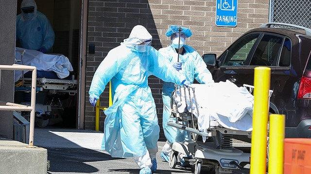 ABD'de koronavirüs nedeniyle bin 931 kişi daha hayatını kaybetti