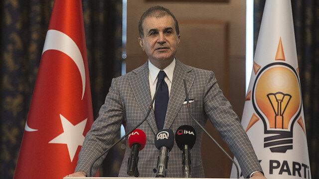 AK Parti Sözcüsü Ömer Çelik: Burada Türk Silahlı Kuvvetlerine iftira söz konusudur