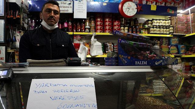 Tokat'ta büyük yardım kampanyası: 2 bin ailenin bakkal borcu ödendi