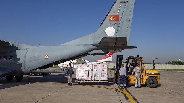 Türkiye'den Arnavutluk ve Kuzey Makedonya'ya tıbbi yardım gönderildi