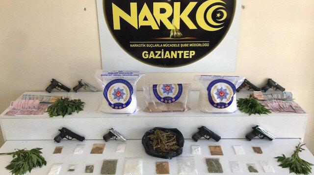 Gaziantep'te torbacı operasyonunda 19 şüpheli yakalandı