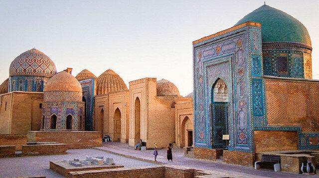 Kubbeler şehri Semerkantta kırk bin kez yazılan lafız: Muhammed