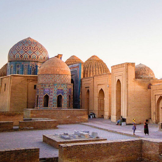 Kubbeler şehri Semerkant'ta kırk bin kez yazılan lafız: Muhammed