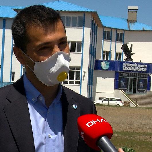 Erzurumspor Başkanı Üneş: Çok dramatik anlar yaşadık