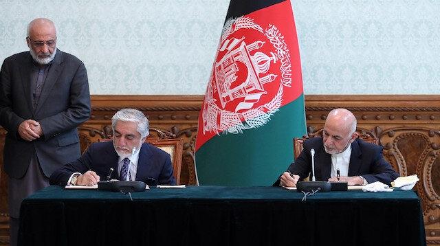 Afganistan'da siyasi kriz uzlaşı ile aşıldı