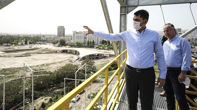Çevre ve Şehircilik Bakanı Kurum: Dünyada eşi benzeri olmayan bir proje Türkiye'ye kazandırılıyor