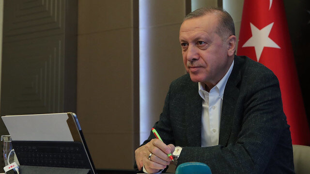 Cumhurbaşkanı Erdoğan, Rusya Devlet Başkanı Putin'le telefonda görüştü