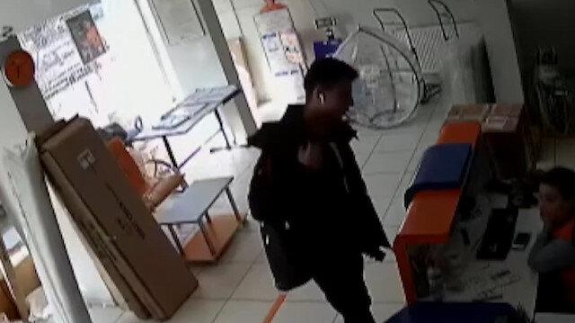 Polisten kargo hırsızına suçüstü
