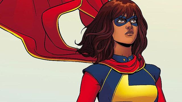 """16 yaşında Jerseyli bir """"süper Müslüman""""  Ms. Marvel"""