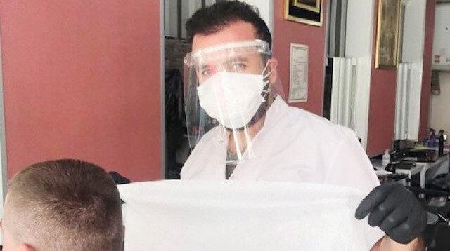 Tavşanlı'da denetim yapan doktorun testi pozitif çıktı: 50 berber ile filyasyon ekibi karantinaya alındı