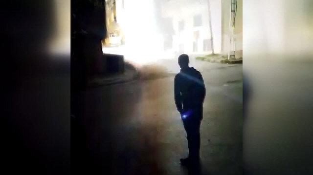 Arnavutköy'de korku dolu anlar: Art arda patlamalar meydana geldi
