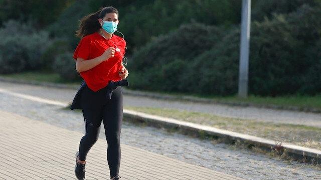 Uzmanlar uyardı: Maskeyle spor yapmak ölümcül olabilir