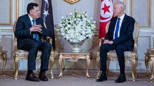 Tunus Libya hükümetini meşru taraf olarak kabul ediyor