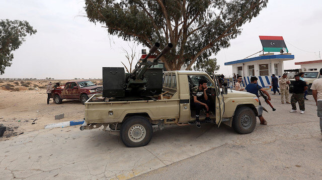 Libya ordusu, Hafter'e ait Rus yapımı hava savunma sistemini imha etti