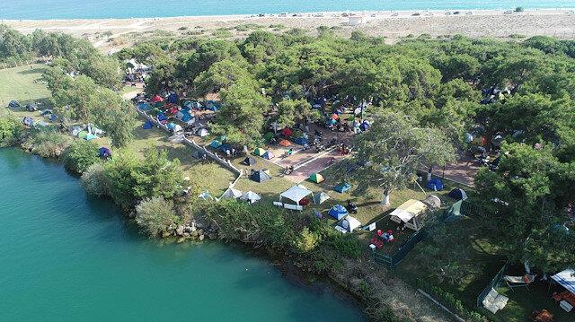 Kamp, karavan ve bungalov tesislerine yoğun talep
