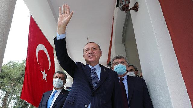 Erdoğan'dan Çam ve Sakura Şehir Hastanesi paylaşımı: Kaderimiz ve kederimiz ortaktır