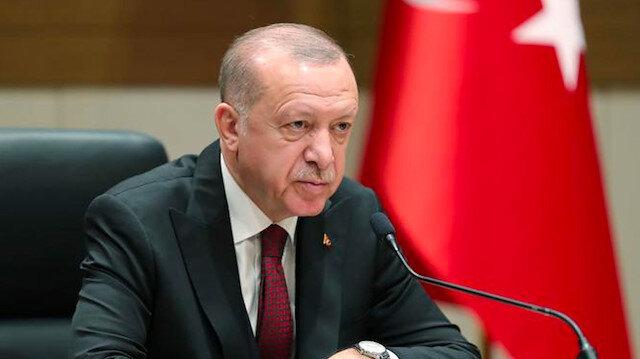 Cumhurbaşkanı Erdoğan, Irak Cumhurbaşkanı Salih ile görüştü
