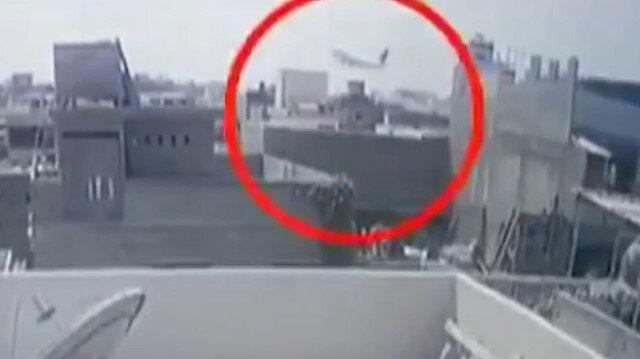 Pakistan'daki uçak kazasının görüntüleri ortaya çıktı