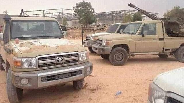 Libya Ordusu başkentin güneyindeki Yermük Askeri Kampı'nda kontrolü sağladı