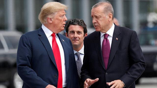 Cumhurbaşkanı Erdoğan ve Trump telefonda görüştü