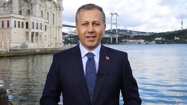 İstanbul Valisi Ali Yerlikayadan bayram mesajı