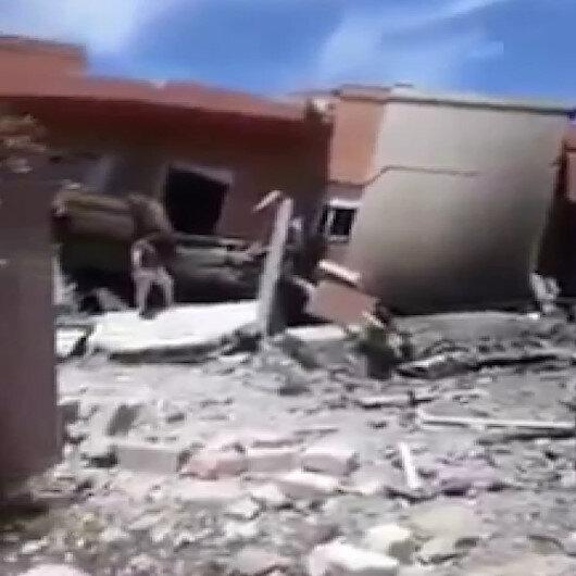 Hafter milislerinden mayınlı saldırı: 2 sivil hayatını kaybetti