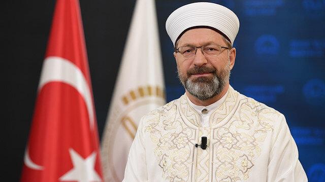 Diyanet İşleri Başkanı Ali Erbaş: Dileyen evinde bayram namazını kılabilir