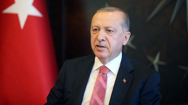 Cumhurbaşkanı Erdoğan'dan liderlerle bayram görüşmesi