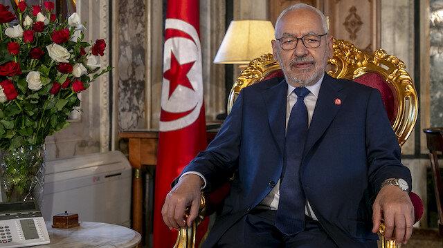 Gannuşi'den Tunuslulara çağrı: Koronavirüs sonrasında başka bir döneme yöneliyoruz
