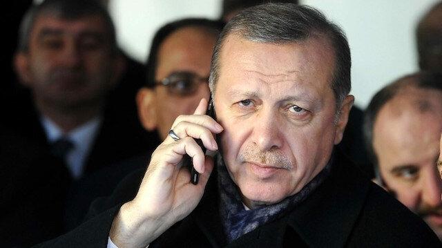 Cumhurbaşkanı Erdoğan'ın 36 saatlik yoğun telefon diplomasisi: 12 lider ile görüştü