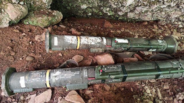 Milli Savunma Bakanlığı açıkladı: Hakkari'de kullanıma hazır 2 TAS füzesi imha edildi