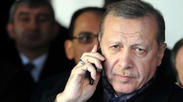 Cumhurbaşkanı Erdoğan Cezayirli mevkidaşı Tebbun ile telefonda görüştü