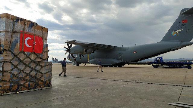 Koca Yusuf bu sefer de Çad için havalandı: Sağlık malzemesi ve ambulans gönderildi