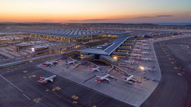 İstanbul Havalimanı yine gururlandırdı: Dünyanın en büyük