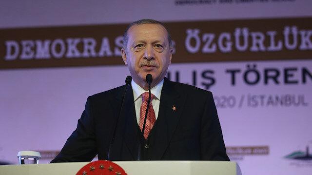 Cumhurbaşkanı Erdoğan: Fatih sondaj gemimiz yeni sondajlar için Karadeniz'e açılacak