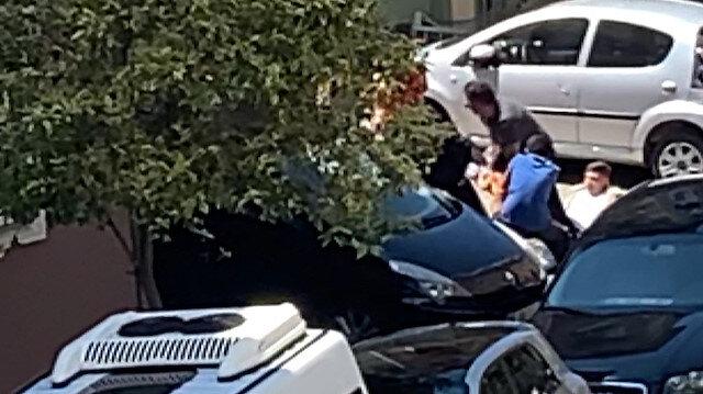 Sokağa çıkma yasağında gezdirdiği köpek kendisine saldırdı