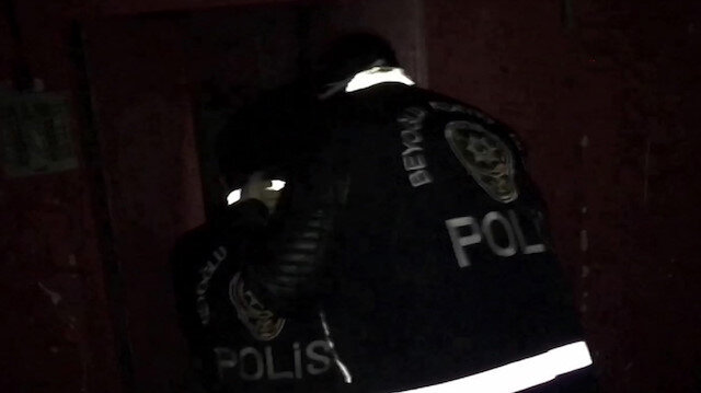 İstanbul'da nefes kesen uyuşturucu operasyonu kamerada