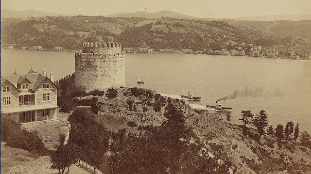 150 yıl öncesinin İstanbul Boğazı