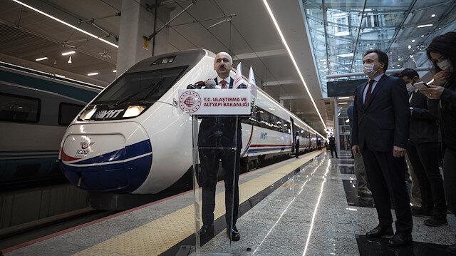 Hızlı tren seferleri yeniden başladı: Ulaştırma ve Altyapı Bakanı Adil Karaismailoğlu'dan bilet açıklaması