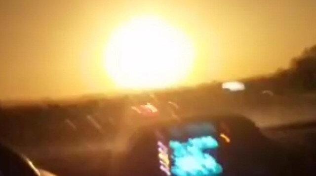 Bingöl'de vatandaşlar düşen göktaşını aramaya çıktı