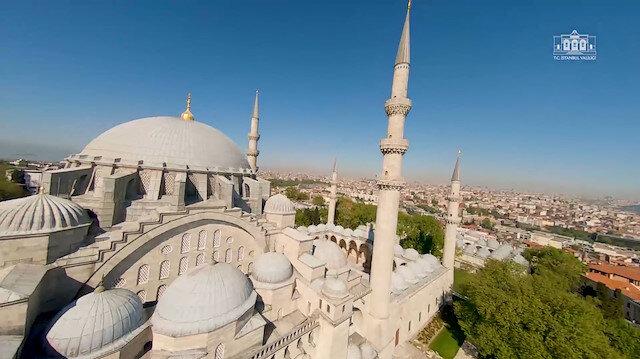 Vali Yerlikaya paylaştı: 29 Mayısta camii hasretimiz bitiyor
